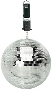 300mm DJ Disco Party Rotating Mirror Ball & Ceiling Mount Battery Operated Motor