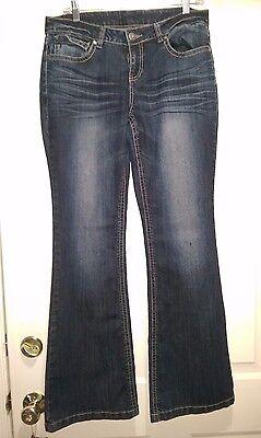 Relativity Womans Blue Jeans Size 8  Please Read