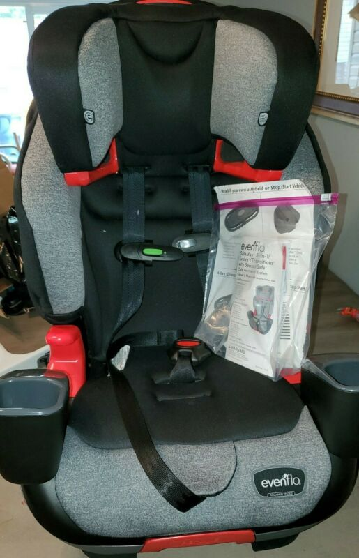 EVENFLO SENSORSAFE advanc EVOLVE 3-IN-1  front facing CAR SEAT NEW W/damged box