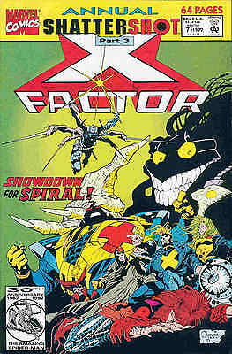 X-Factor Annual # 7 (68 pages) (USA, 1992)