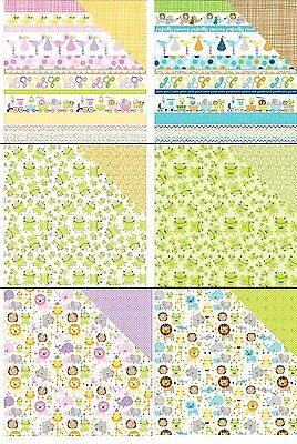 Bella BLVD Sweet Baby Girl/ Cute Baby Boy Double-Sided Cardstock 12
