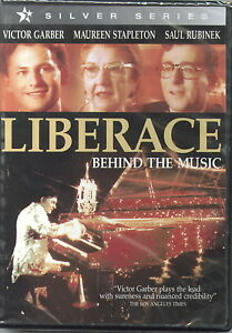 New/sealed - LIBERACE Behind The Music -Victor Garber, Maureen Stapleton