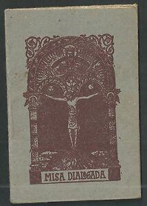 Librito-antiguo-de-la-Misa-andachtsbild-santino-holy-card-santini