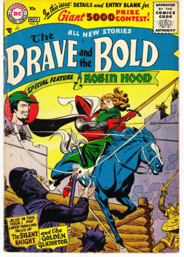 The Brave and The Bold #8 (DC, Nov 1956)
