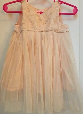 Heirloom By Polly Flinders Peach Boutique Dress 6 9 Month Spring Easter - Heirloom Easter Dresses