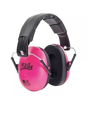 A15-74 Kidz Childskids Ear Defendersprotectors Pink En352-1 Ce Marked