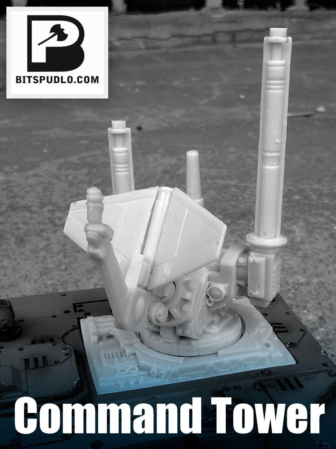 Alternative Damocles Command Rhino turret for Space Marines