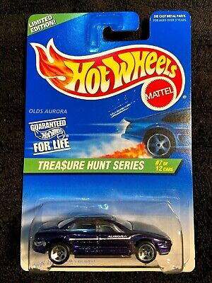 Hot Wheels Treasure Hunt 1997 OLDS AURORA #7/12