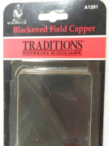 Traditions Solid Blackened Brass Field Capper #10/#11 Percussion cap TC A1291