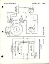 Poulan BPA 2150 3000 3000CD Portable Alternator Generator