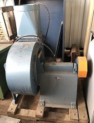 New Forsburg 12 H.a. Dry Granular Separations Industrial Blower Fan 5hp 3200 Rpm