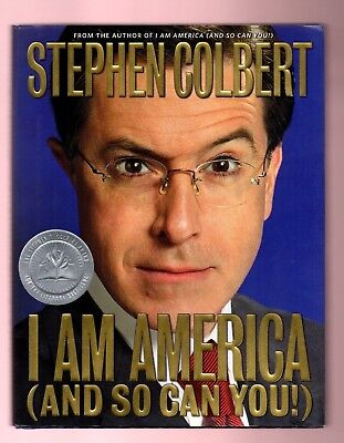 I Am America  And So Can You   By Stephen Colbert  Paul Dinello  Signed By Cast
