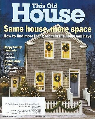 This Old House Magazines   Pick Your Issues    2018   Vintage   Free Shipping