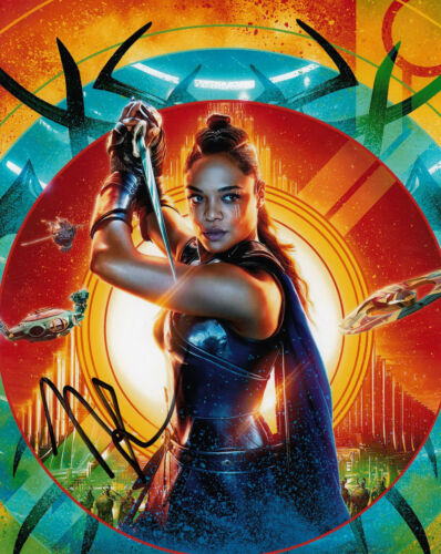 Tessa Thompson Authentic signed 10x8 Thor Ragnarok AFTAL, UACC & COA [15143]