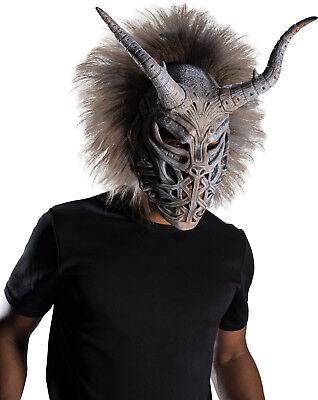 Erik Killmonger Tribal Adult Mask Marvel Michael B Jordan MCU Halloween Costume - Halloween Jordans