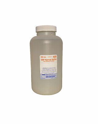 0.9 Sodium Chloride Irrigation Usp Normal Saline 500ml Btl Nurse Assist
