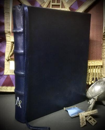 LEATHER HANDWRITTEN ~ CYCLOPEDIA & DICTIONARY OF FREEMASONRY * NEW (Orig. 1872)