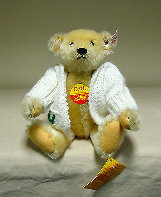 """Steiff - """"CU"""" Collectors United Teddy Bear - #405259 - Limited to 800"""