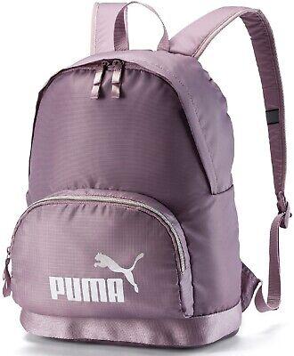 Puma Core Backpack Rucksack Bag - Travel Gym Sports School Fitness - Purple