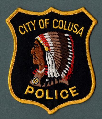 Colusa California Police Patch