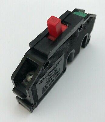 Zinsco Magnetrip Sylvania Type T 120 1 Pole 20 Amp 120v Q20 Breaker Red Handle
