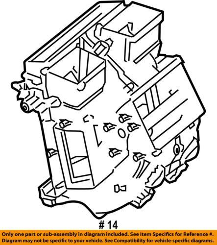 Audi Oem 08 12 R8 Evaporator Heater Rear Housing 420898191a