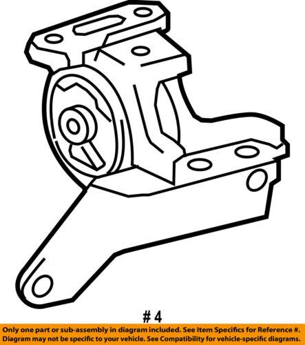Toyota Oem 2014 Corolla Engine Motor Mount Torque Strut 123720t330