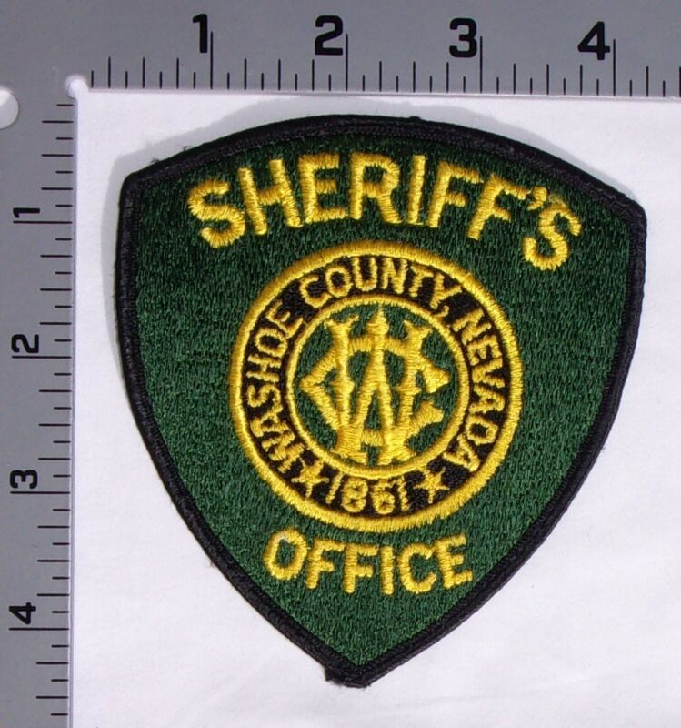 Washoe County Nevada Sheriff Department Shoulder Patch