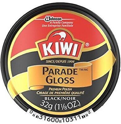 KIWI Parade Gloss Premium Shoe Polish Paste, Black 1.125 oz