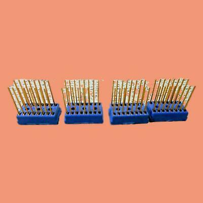 Cambion 16 Gold Plated Pin Ic Integrated Circuit Socket Lot Of 4