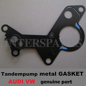 fuel vacuum tandem pump gasket vw bora golf mk4 mk5 jetta passat 1 9tdi 2 0tdi ebay. Black Bedroom Furniture Sets. Home Design Ideas