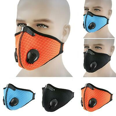 Reusable Sport Cycling Breathable Anti-fog Haze-Face Mouth masks Cover Protetion Clothing