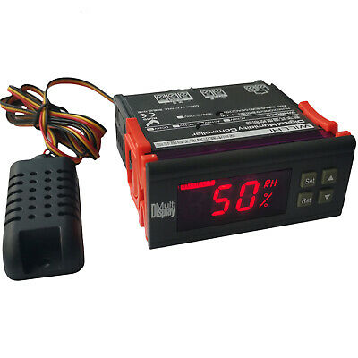 110v Digital Air Humidity Control Controller Wh8040 Range 199 Rh Hm-40 Type Us