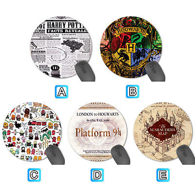 Harry Potter Hogwarts Round Mouse Pad Mat Mice Computer Notebook Mousepad Notebook Mouse Pad Mat