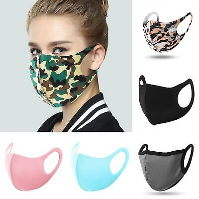 Reusable KidAdult Protective Face Mouth Muffle Mask Cover Respirator Outdoor Clothing