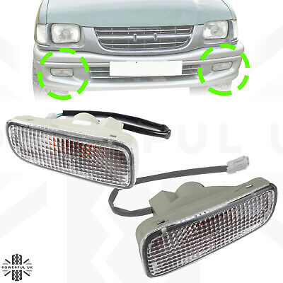 PAIR Front Indicator Lights lamps for Isuzu TF Rodeo Brava Pickup TFR LH+RH