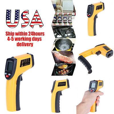 No-contact Ir Laser Infrared Digital Temperature Lcd Thermometer Gun Pyrometers