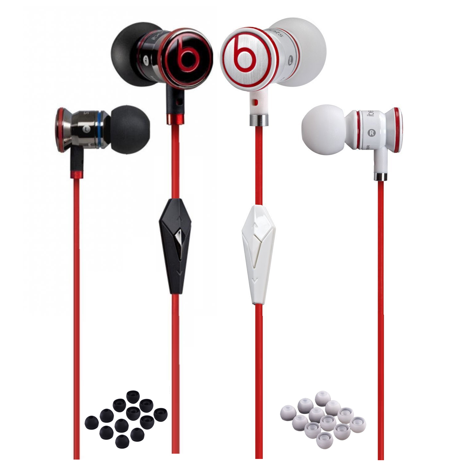 Beats By Dre - iBeats by Dr Dre Control Talk Mic In-Ear Earbuds Beats Mobile Headset Headphones
