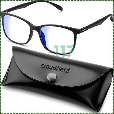 Blue Light Blocking Glasses Anti Glare Computer Glasses Vintage Blue (Blue Light Blocker)