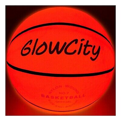 GlowCity Light Up Basketball-Uses Two High Bright LED's (Official Size and We...](Light Up Basketball)