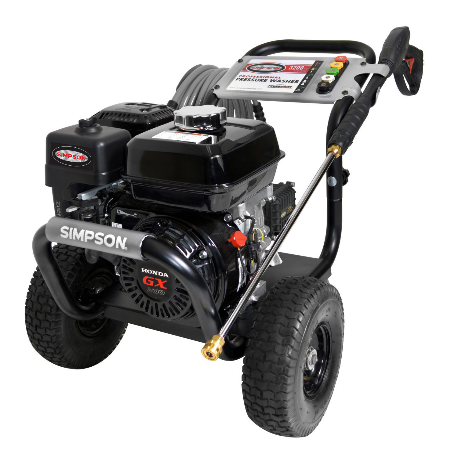 SIMPSON PS3228-S 3300 PSI @ 2.5 GPM Honda Pressure Washer -