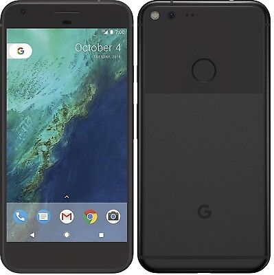 Google Pixel XL - 128GB - Quite Black (Unlocked) Smartphone New Other