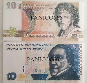 10 UNITA' IPZS SPECIMEN Ugo Foscolo 10 UNITA' IPZS SPECIMEN Rossini (COPIE) - Italia - 10 UNITA' IPZS SPECIMEN Ugo Foscolo 10 UNITA' IPZS SPECIMEN Rossini (COPIE) - Italia