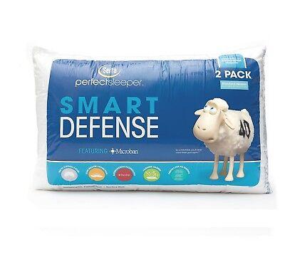 New 2 pack Serta Perfect Sleeper Standard/Queen Bed Pillow Hypoallergenic Cotton ()