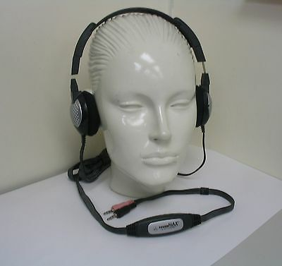 Headphone With Invisible Microphone For Skype Msn Google Talk Yahoo  Messenger