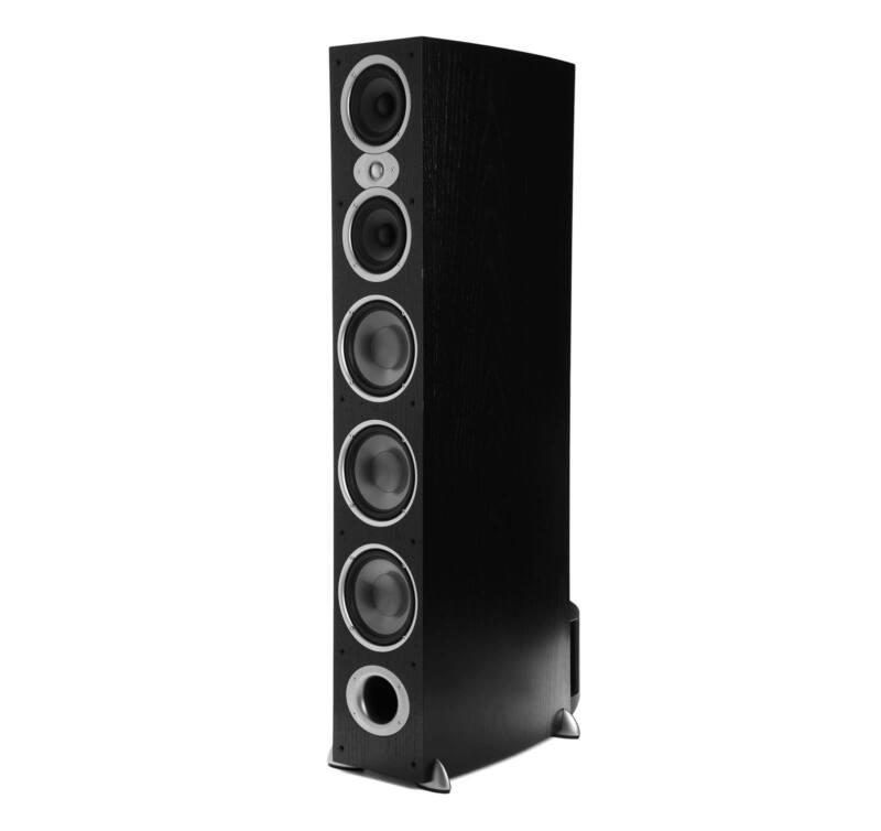 "Polk Audio 7"" 3-Way Floor Speaker (Each) Black RTIA9 BLACK"