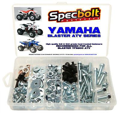 Yamaha Blaster Bolt Kit 120pc YFS200 ATV QUAD plastic body frame engine fenders
