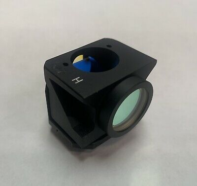 Leitz H Cube Filter Block For Ploemopak Fluorescence Microscope Gfp Fitc Blue