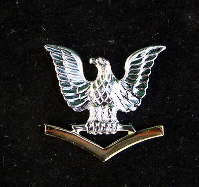 US NAVY 3rd CLASS PETTY OFFICER GOOD CONDUCT HAT PIN E-4 PO3 CROW USS GIFT - Navy Hat Pins