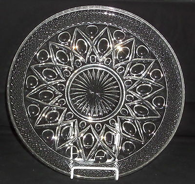 """Imperial CAPE COD CRYSTAL *13 1/2"""" CUPPED PLATE*1608V"""